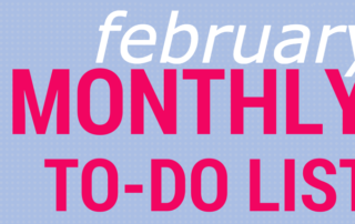 February To Do featured image