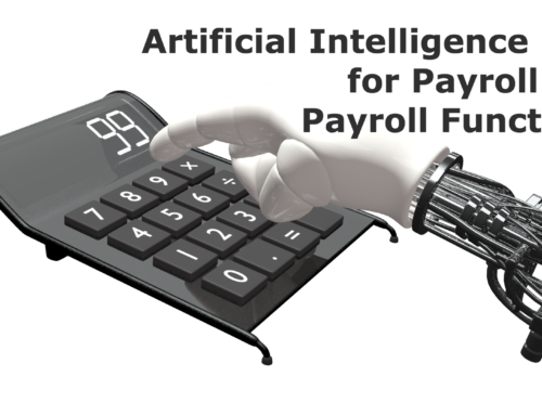 Artificial intelligence (AI) for payroll & payroll functions