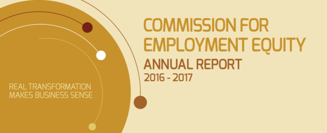 17TH COMMISSION FOR EMPLOYMENT EQUITY (CEE) ANNUAL REPORT