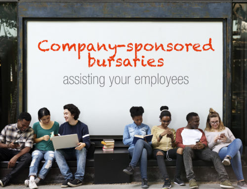 Bursaries — A way to assist your employees and their children with obtaining an education
